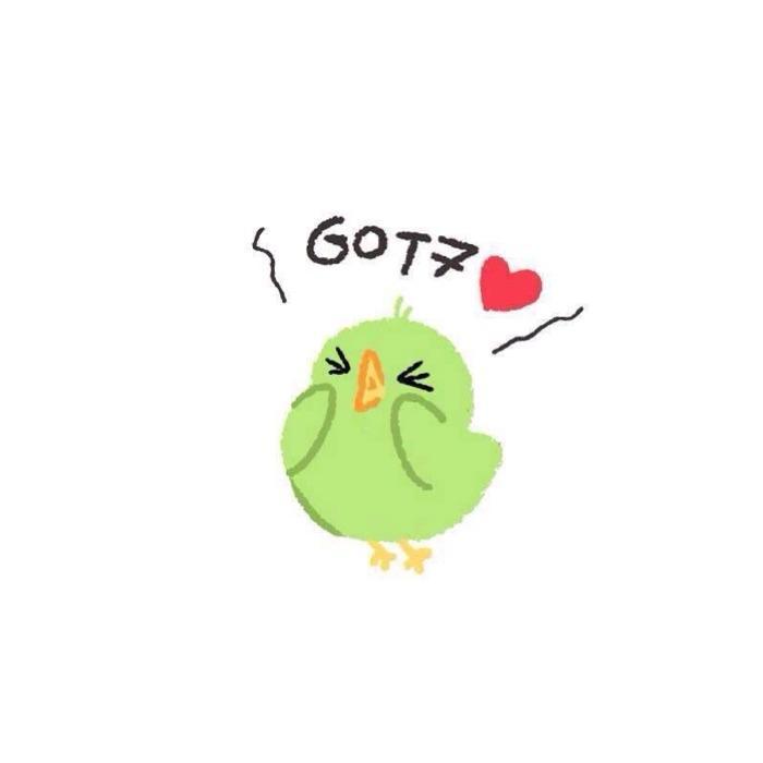 นกน้อยของ GOT 7 💚🐤💚