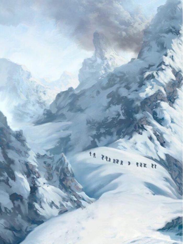 Ice age #ดินเเดนเหมันต์ | kookv